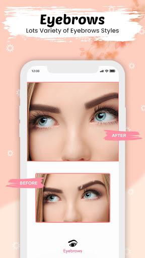 You face Makeup photo editor screenshot 4