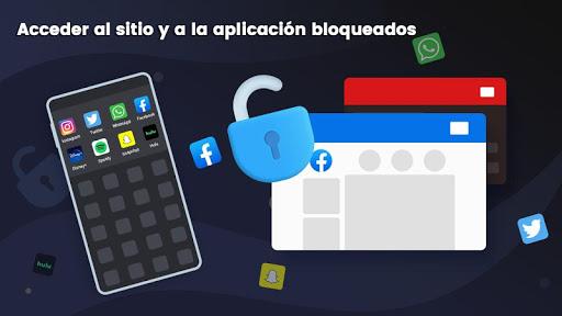 3X VPN - Navega con seguridad, Boost screenshot 3