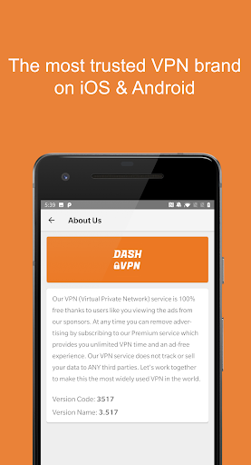 - VPN (Dash VPN) screenshot 5