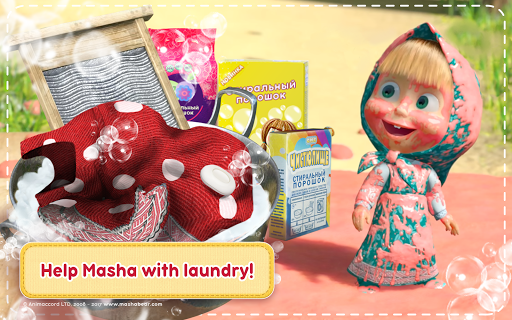 Masha and the Bear: House Cleaning Games for Girls screenshot 17