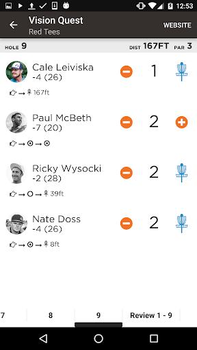 UDisc Live - Scorekeeper App screenshot 3