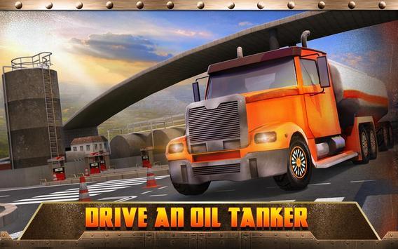 Oil Transport Truck 2016 screenshot 6