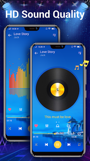 Music player - 10 bands equalizer Audio player screenshot 5