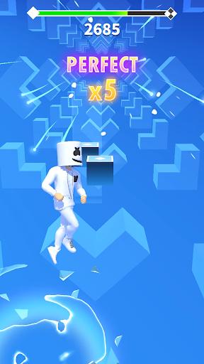 Marshmello Music Dance 1 تصوير الشاشة