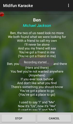 Midifun Karaoke screenshot 7