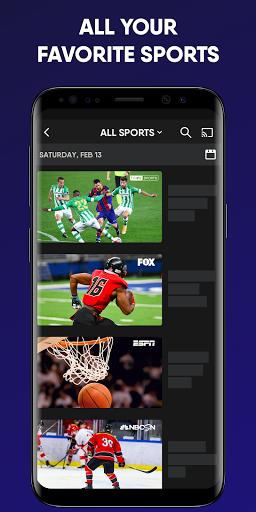 fuboTV: Watch Live Sports, TV Shows, Movies & News 4 تصوير الشاشة