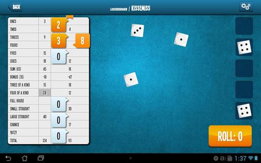 Yatzy Online screenshot 7