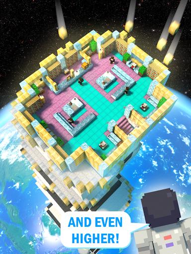 Tower Craft 3D - لعبة بناء من نوع ألعاب الخمول 8 تصوير الشاشة
