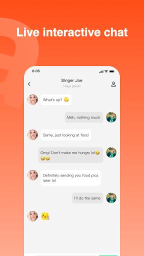 Haya - Group Voice Chat App screenshot 5