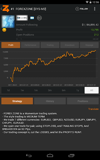 ZuluTrade - Copy Trading Platform 10 تصوير الشاشة
