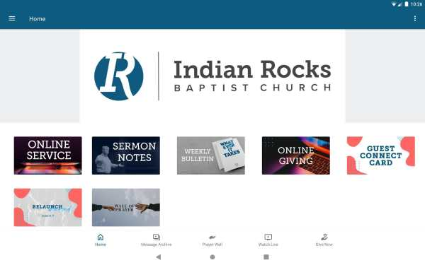 Indian Rocks Baptist Church screenshot 4