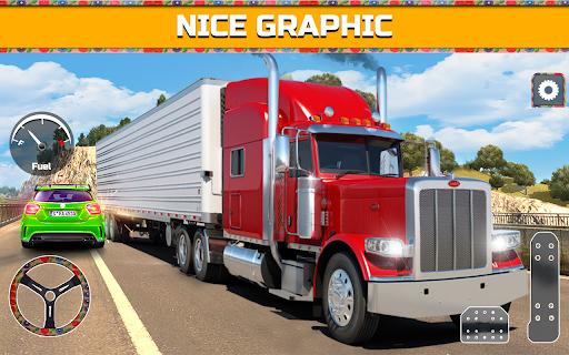 PK Cargo Truck Transport Game 2018 screenshot 5