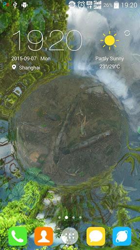 Water Garden Live Wallpaper screenshot 1