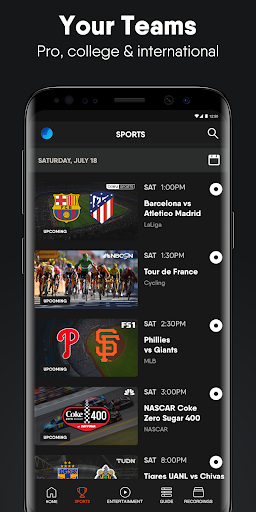 fuboTV: Watch Live Sports, TV Shows, Movies & News 3 تصوير الشاشة