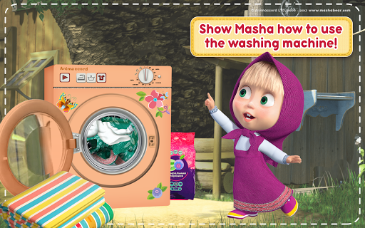 Masha and the Bear: House Cleaning Games for Girls screenshot 21