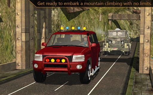 Offroad Jeep mountain climb 3d screenshot 5