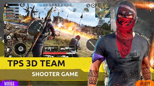 Squad Survival Game FreeFire Battleground Shooter screenshot 1