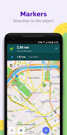 OsmAnd — Offline Maps, Travel & Navigation 7 تصوير الشاشة