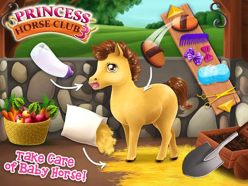 Princess Horse Club 3 - Royal Pony & Unicorn Care screenshot 9