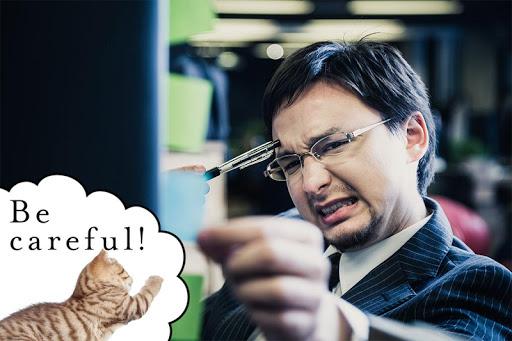 नोटपैड नोट्स : Cat Sticky - बिल्ली screenshot 1