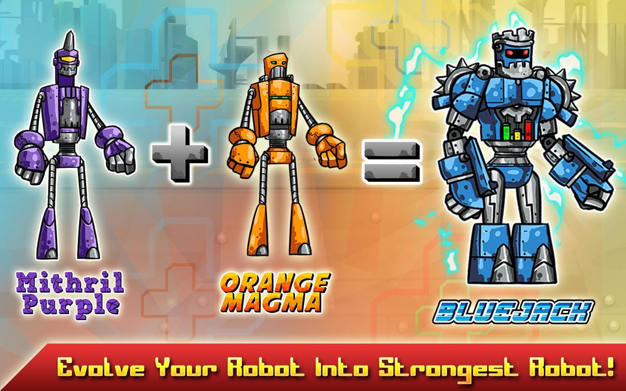Robot Evolved : Clash Mobile 8 تصوير الشاشة