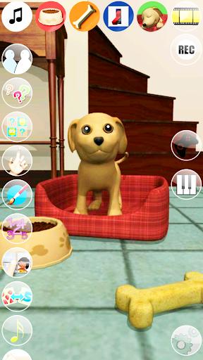甘い話す子犬:おかしい犬 - Pet Games Free screenshot 5