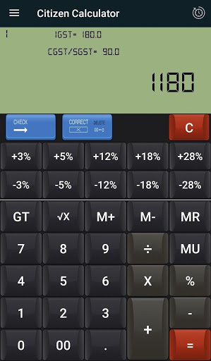 Citizen Calculator & GST Calculator -Loan EMI Calc 1 تصوير الشاشة