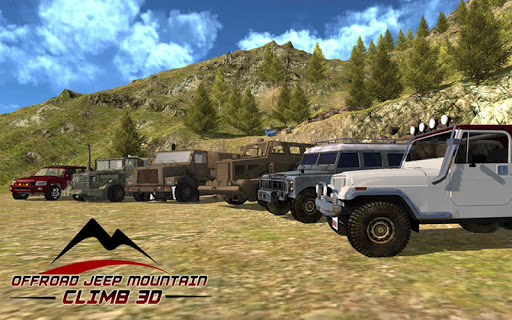 Offroad Jeep mountain climb 3d screenshot 4