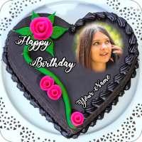 Name Photo On Birthday Cake on APKTom