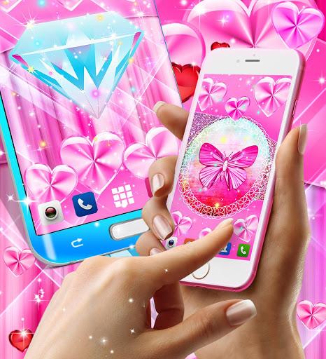 Wallpapers for girls 5 تصوير الشاشة