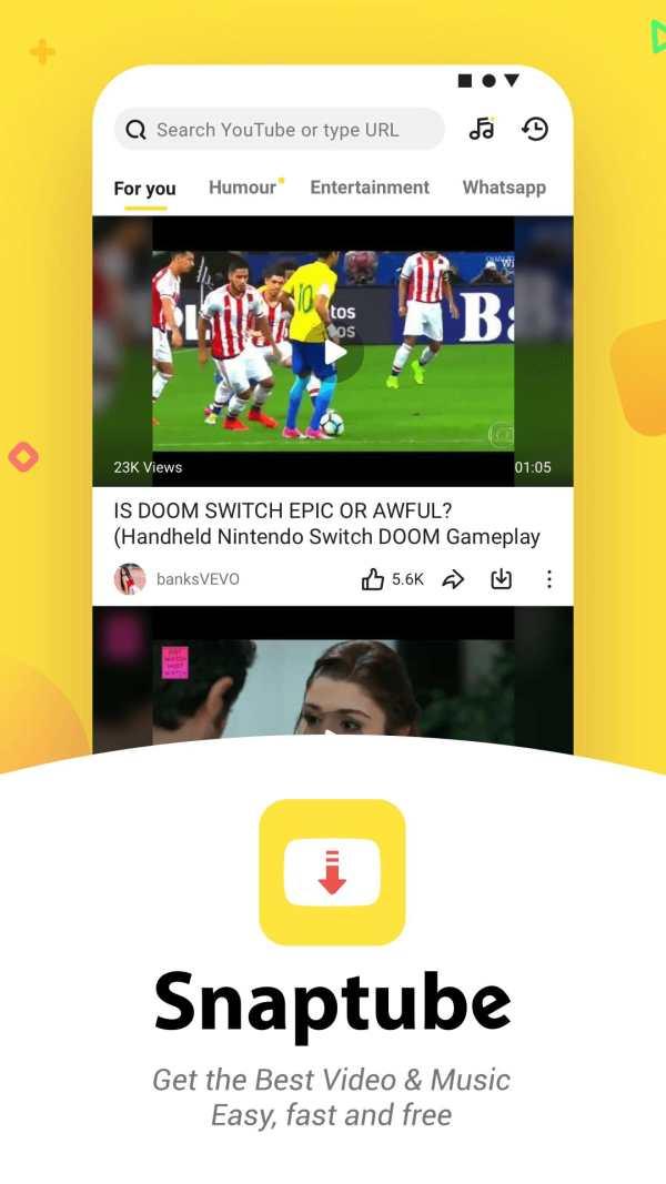 YouTube Downloader and MP3 Converter Snaptube screenshot 2