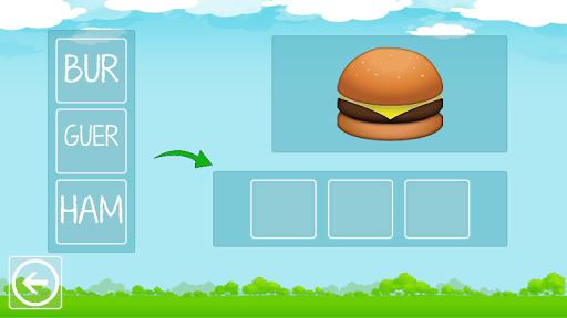 Formar Palavras - Alfabetização 3 تصوير الشاشة