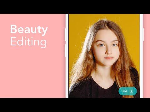 Candy Camera - selfie, beauty camera, photo editor screenshot 1
