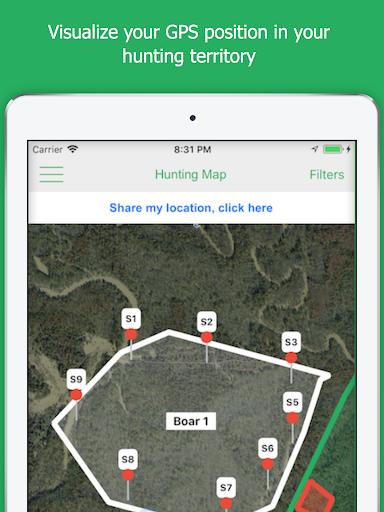 Hunting Map, the GPS for hunters screenshot 12