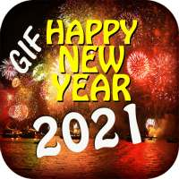 Happy New Year GIF 2021 on 9Apps
