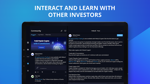 Webull: Investing & Trading. All Commission Free screenshot 16