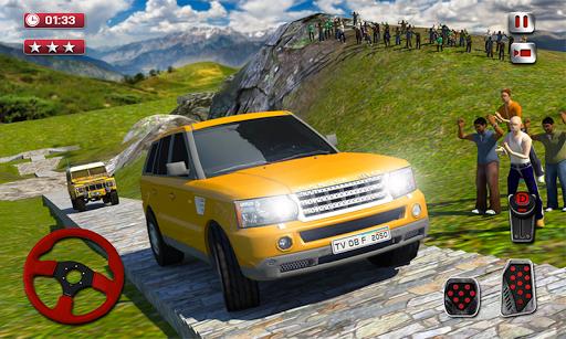 Cruiser Car Stunts: Dragon Road Driving Simulator screenshot 1
