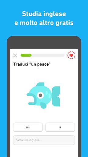 Impara l'inglese con Duolingo screenshot 3