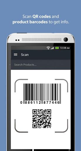 ScanLife Barcode & QR Reader 1 تصوير الشاشة