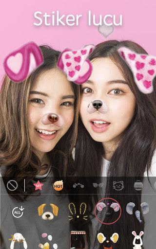 Sweet Snap - Filter Kamera, Emoji & Stiker Foto screenshot 1