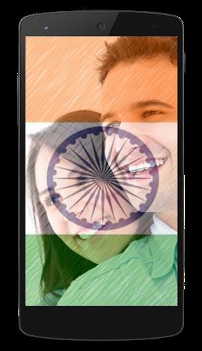 India Flag DP Photo Frame | 15 August photo frame screenshot 4