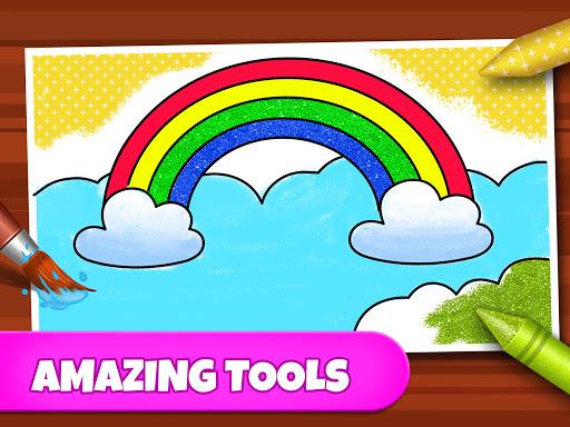 Coloring Games: Coloring Book, Painting, Glow Draw screenshot 10