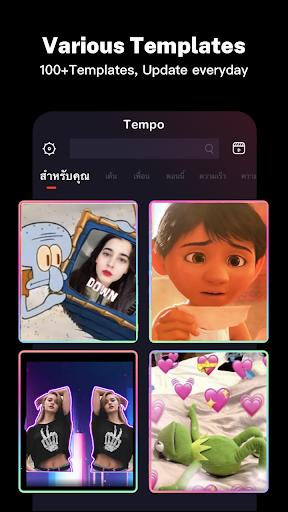 Tempo - Music Video Maker screenshot 4