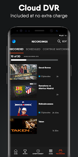 fuboTV: Watch Live Sports, TV Shows, Movies & News 5 تصوير الشاشة