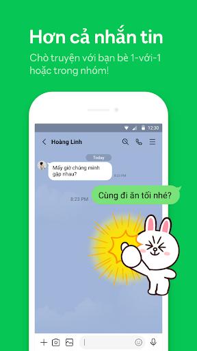 LINE:Gọi và nhắn tin miễn phí screenshot 1