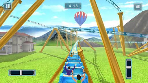 Rücksichtslose Achterbahn-Simulator-Spiele screenshot 6