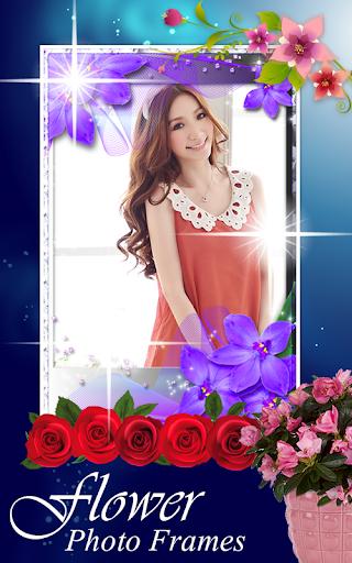 กรอบรูปดอกไม้ กรอบรูป แต่งรูป скриншот 4