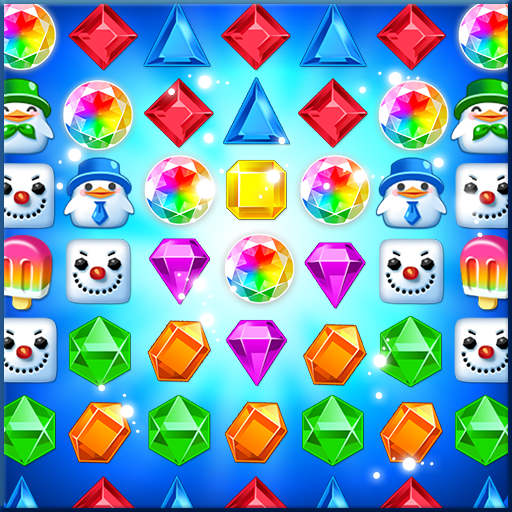 Jewel Pop Mania:Match 3 Puzzle أيقونة