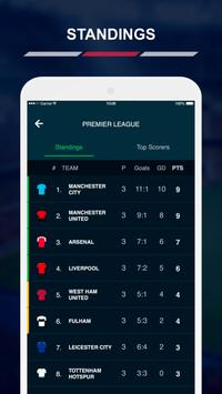 English League Scores स्क्रीनशॉट 5