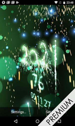 New Year 2021 countdown 5 تصوير الشاشة